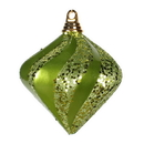 Vickerman M1332LM 6'' Lime Candy Glitter Swirl Diamond