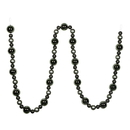 Vickerman N181723 9' Wrought Iron Assorted Ball Garland