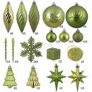 Vickerman N512513 125Pc Lime Ornament Set