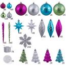 Vickerman N512550 125Pc Party Theme Ornament Set