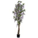 Vickerman T133000-07 7' Purple Wisteria Tree