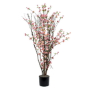 Vickerman T133003-06 4' Hot Pink Blossom Tree