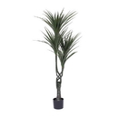Vickerman T160748 48'' UV Giant Yucca Tree w/124 Lvs