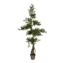 Vickerman TB180148 4' Potted Cedar Tree 208Lvs