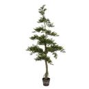 Vickerman TB180160 5' Potted Cedar Tree 323Lvs