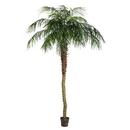 Vickerman TB180396 8' Potted Pheonix Palm Tree 1095Lvs