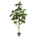 Vickerman TB180448 4' Potted Fig Tree 45Lvs