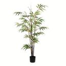 Vickerman TB190140 4' Potted Black Japanese Bamboo Tree