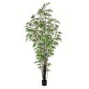 Vickerman TB190195 10' Potted Black Japanese Bamboo Tree