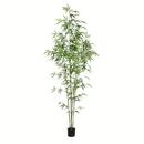 Vickerman TB190460 6' Potted Mini Bamboo Tree 1193 Leaves