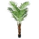 Vickerman TB190750 5' Potted Areca Palm 372 Leaves