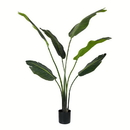 Vickerman TB190840 4' Potted Travelers Palm 6 Leaves