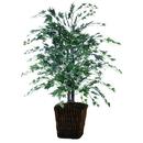 Vickerman TBU1640-0414 4' Silver Maple Bush