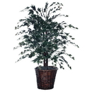 Vickerman TBU1640 4' Silver Maple Bush