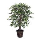 Vickerman TBU4240 4' Mini Ficus Bush