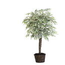 Vickerman TDX1370-07 7' Varigated Smilax Deluxe
