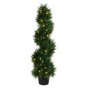 Vickerman TP170536LED 3' Cedar Spiral UV 50WW LED