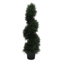 Vickerman TP170536 3' Cedar Spiral In Pot (UV)