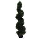 Vickerman TP170548 4' Cedar Spiral In Pot (UV)