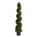 Vickerman TP170560LED 5' Cedar Spiral UV 130WW LED