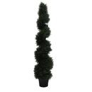 Vickerman TP170560 5' Cedar Spiral In Pot (UV)
