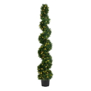 Vickerman TP170572LED 6' Cedar Spiral UV 160WW LED