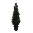 Vickerman TP170648 4' Potted Cedar Tree (UV)