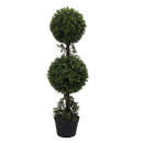 Vickerman TP170736 3' Boxwood Double Ball in Pot (UV)