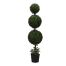 Vickerman TP170760 5' Boxwood Triple Ball in Pot (UV)