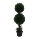 Vickerman TP170836 3' Cedar Dbl Balls In Pot (UV)