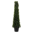 Vickerman TP192036 3' Potted Boxwood Cone UV