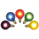 Vickerman V145545 G40 Multi Twinkle Bulb 120V 7W E12 5/Box