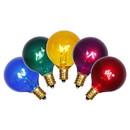 Vickerman G40 Multi E12 Bulbs 5/Box 7W 120V.039Amp