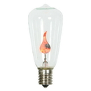 Vickerman V17ST40 ST40 Clr Flicker Flm E17 Bulb/1Watt 10pk
