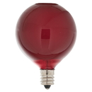 Vickerman V401703 10 Pk Red G50 Bulbs for E12/C7 Socket