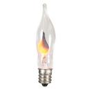 Vickerman V404710 Flickering C7 Flame Bulb 3.5wNickel Base