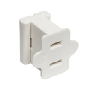 Vickerman V471901 White Female Quick Plug SPT-1 18Ga Wire