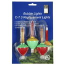 Vickerman V490773 C7 Multi Bubble 5 watt Repl. Bulbs 3 Pak