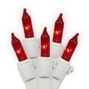 Vickerman W5W1003 100Lt Red/Ww Ec Lock Set 5.5