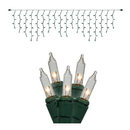 Vickerman W6G4301 100Lt Clear/GW Icicle Ec Set 9'L Bag