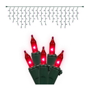 Vickerman W6G4308 100Lt Pink/GW Icicle Ec Set 9'L Bag