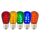 Vickerman X14ST10 S14 LED Multi Transp Bulb E26 Nk Base