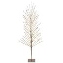 Vickerman X168031 3' Champagne Tree LED200 WmWht Flat Base