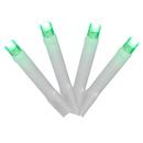 Vickerman X17W244 144Lt LED Green Cluster Set WW E-C 24'L