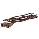 Vickerman X6B6611 6' Brown Wire Coaxial Ext Cord 6/Bag