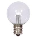 Vickerman XG50T1P G50 LED PureWht Transp Bulb E17 Nk Base
