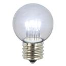 Vickerman XLED2655 G50 LED Cool Wht E26 Glass Bulb 5/Box.9W