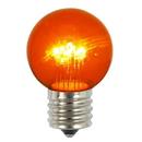 Vickerman XLED2658 G50 LED Amber E26 Glass Bulb 5/Box .9W