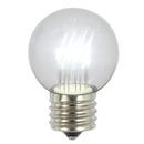 Vickerman XLED265P G50 LED Pure Wht E26 Glass Bulb 5/Box.9W