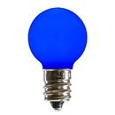 Vickerman XLEDCG32-25 G30 Blue Ceramic LEDBulb E12 .96W 25/Box